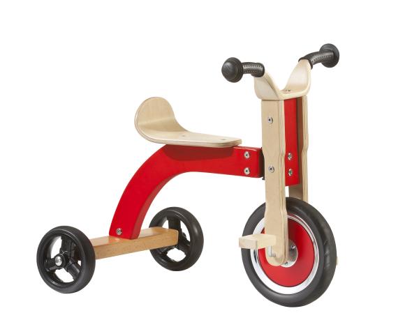 Triciclo di legno - Stock rimanente
